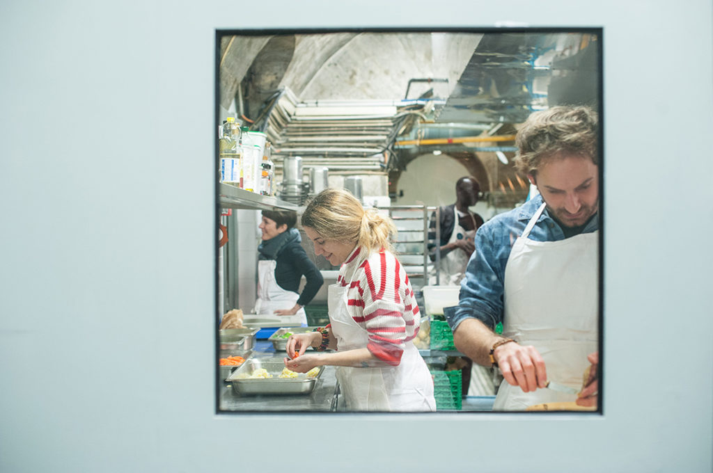 Studio Mujote, agence de communication visuelle éco-responsable, Paris-Nantes, Refectorio